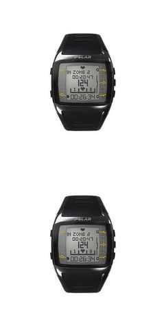 Heart Rate Monitors 177841: Heart Rate Monitor Watch - Polar® Ft60m - Black/White - For Male -> BUY IT NOW ONLY: $184.4 on eBay!