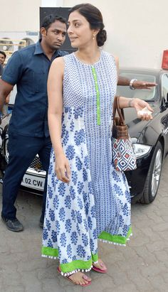 Tabu in cotton kurti