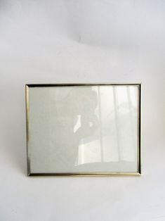 Vintage Frame 8 x 10 Metal Gold Tone Bead Edge Design Picture | Etsy Vintage Picture Frames, Vintage Frames, Frame Gallery, Wood Slats, Copper Metal, Edge Design, Picture Sizes, Picture Design, Beads