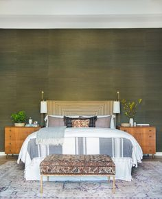 (Don't like wall color but like the rest of the vibe) Client Oh Hi Ojai – Amber Interiors