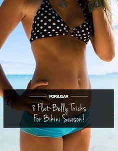 8 Tricks For a Bikini-Ready Belly