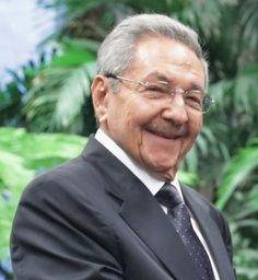 Raul Castro, Cuba, brother of Fidel Castro and the current Head of State. He opens up Cuba to the US & the World.
