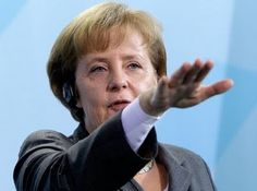 """""""Angela Merkel: No national leader and particularly the leader of German people should use this palm down, arm extended gesture. Obvious images of Adolf Hitler create an immediate and visceral fear response in all who see it.  Palms down gestures universally generate negative, patronizing and condescending feelings in the audience. Leaders are well advised to use """"palms up"""" gestures to spread feelings of openness, fostering, and supportive attitudes while conveying strong leadership."""""""
