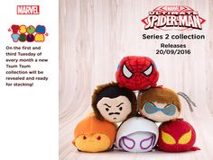 Ultimate Spider-Man Series 2 Tsum Tsum Collection Coming Soon