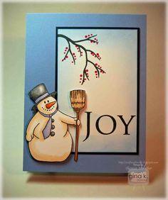 Happy Snowman Card Tutorial - stampTV