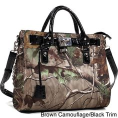 6dc648ef1a Realtree Western Camo Satchel Purse - Overstock™ Shopping - Big Discounts  on Satchels Tote Backpack