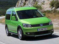 2013 VW Cross Caddy: Familien-Van mit Offroad-Charakter #volkswagen #caddy #offroader