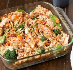 yield:8 INGREDIENTS: ¾ cup low sodium soy sauce ½ cup water 1/3 cup packed brown sugar 1 tablespoon honey ¾ teaspoon ground ginger 1 teaspoon olive oil ½ teaspoon minced garlic 2 tablespoons corn starch 2 tablespoons water 1 ½ lbs boneless skinless chicken breasts 32 oz frozen mixed vegetable…