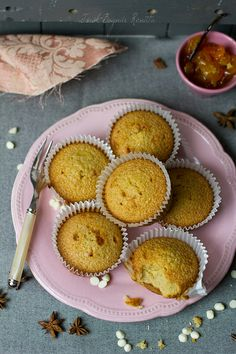 Star anise and kumquat blondie muffins | Flickr: Intercambio de fotos