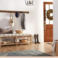 Create a Warm & Inviting Entryway
