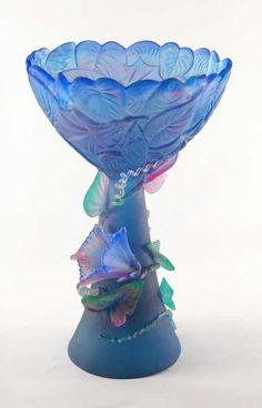 Evelyn Dunstan   Glass Artist :: Conundrum Chalice