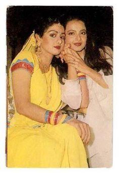 Rekha & Sridevi