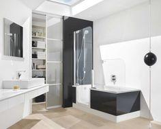 bathtub pada desain kamar mandi minimalis