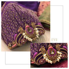 Pattu Saree Blouse Designs, Designer Blouse Patterns, Fancy Blouse Designs, Bridal Blouse Designs, Cut Work Blouse, Hand Work Blouse Design, Stylish Blouse Design, Aari Work Blouse, Blouse Back Neck Designs