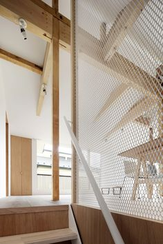 With its arresting ceiling and exposed timber structure, this house by Tomomi Kito Architects accommodates four generations under one roof in true style. Residential Interior Design, Residential Architecture, House Tokyo, 1970s House, Farm Plans, Open House Plans, Timber Structure, Japanese House, Products