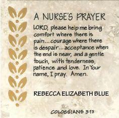 35 Nurse's Prayers That Will Inspire Your Soul | NurseBuff
