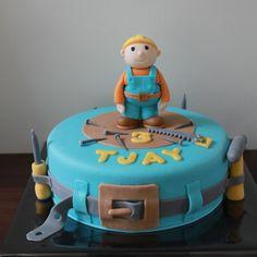 Bob de bouwer taart.