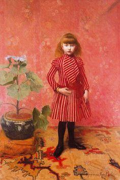 Aristide Maillol (French artist, 1861-1944) Portrait de Lucien 1896