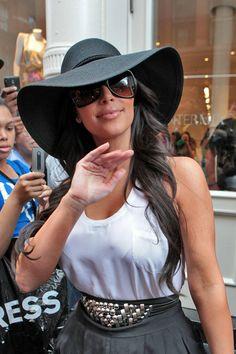 Kim Kardashian Hats