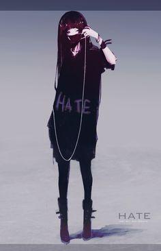 ArtStation - Hate Chan, Aoi Ogata