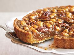 Photo gallery: 6 favourite harvest pie recipes - Slide 5 - Canadian Living - Mixed Nut Tart