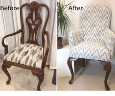 Twenty years ago I had this dining room chairs custom made. I wanted them to be sturdy enough they could last for many years, so I chose the best wood I could...