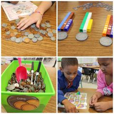 New ways to look at teaching coin combinations