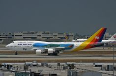 Special Livery, Air Pacific, Boeing 747-400