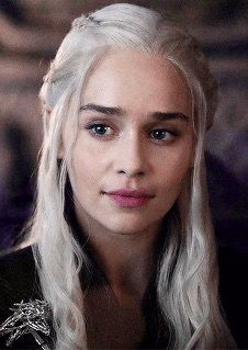 "Emilia Clarke as Daenerys Targaryen in ""Game of Thrones"""