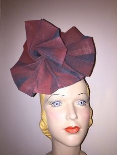 BY ANDREA BLOHM   #millinery #hats #HatAcademy