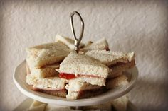 5 ways{Tea Sandwiches}DELICIOUS! (From Scratch <3)