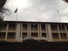 Parliament of Namibia, Windhoek, Namibia