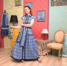 26707fca6dbfb08 Платья ручной работы. Ярмарка Мастеров - ручная работа. Купить Платье  рубашка, хлопковое.