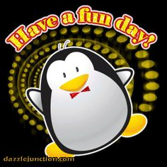 Animated Gif by Barbara_Wyckoff Penguin Quotes, Penguin Meme, Good Day, Good Morning, Dj Quotes, Weekend Greetings, Gif Photo, For Facebook, Animated Gif