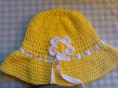 Easy to crochet sun hat   summer hat  gorra para el sol y verano Sombrero 2b4a662f2a7b