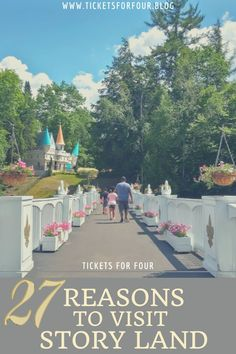 27 Reasons To Visit Story Land: Story Land is a family theme park in New Hampshire. Story Land is a kid friendly amusement park that features over 30 attractions perfect for making little ones smile. We put together a list of reasons why you should plan a visit to Story Land! #WhatToDoInNewHampshire #WhatToDoWithKidsInNewHampshire #WhatToDoInNH #WhatToDoWithKidsInWhiteMountainsNewHampshire #WhatToDoInWhiteMountainsNewHampshire #ThingsToDoInStoryLandNH Travel With Kids, Travel Usa, Family Travel, Travel Guides, Travel Tips, Travel Advice, Places To Travel, Travel Destinations, East Coast Road Trip