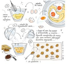 Traditional Cooking Photography - Cooking Recipes Homemade - Cooking With Kids Pictures - Cooking With Kids Pancakes - Chinese Cooking Photography - Cooking Pictures People Fun Cooking, Cooking Recipes, Cooking Icon, Cooking Hacks, Cooking Gadgets, Cooking Videos, Cartoon Recipe, Recipe Drawing, Sketch Note