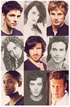 I am being completely serious when I have never, in my entire life, seen such a beautiful cast than the one for Merlin