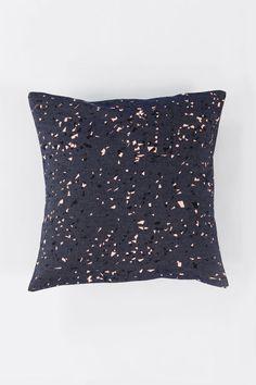 Room39 — Denim Granit Cushion / peach+black