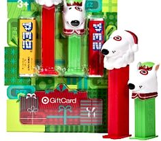 Looking for a sweetgift for the holidays?!Hurry over toTarget.com and buy aTarget PEZ Elf and Santa Gift Cardfor just$5 or more+ includes 2 FREE PEZ Dispensers & Candy+ FREE Shippi ...