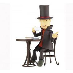 Professeur Layton - Figurine de Hershel Layton - revoltech