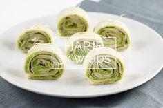 Recept // Klein hapje met 3x wraps