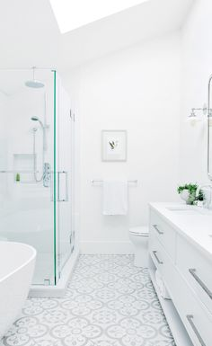 How a 1950s bungalow evolved into a West Coast icon for a couple who wants their kids to grow up close to nature.   Image: Tracey Ayton   Designer: Sophie Burke #StyleatHome #westcoaststyle #Vancouver #interiordesign #bathroom