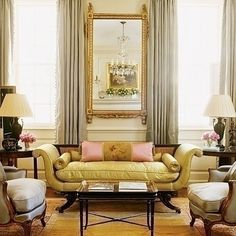 Classic design in the sitting room
