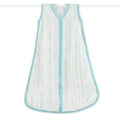 Aden & Anais Bamboo Sleep Bag - Azure Bead $44.99
