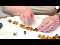 """tutorial: come infilare una collana con canottiglia e nodini """"vecchia scuola """" - YouTube"""