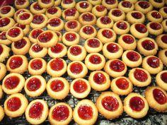 Doña Galleta: Galletas rellenas de mermelada