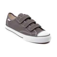 Shop for Vans Prison Issue Skate Shoe in Gray White at Journeys Shoes. Shop today for the hottest brands in mens shoes and womens shoes at Journeys.com.Who needs laces? Vans Prison Issue featuring a 3-way hook-and-loop strap closure, durable canvas upper, and vulcanized rubber sole.