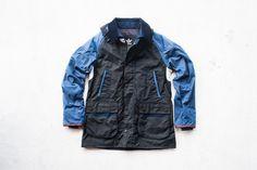 adidas Originals x Barbour Johbar Luxury Jacket - Navy