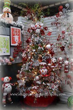 christmas decorating 2014 | 2014 RAZ Aspen Sweater Christmas Decorating Ideas_027
